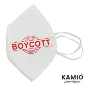 Boycott China Mask Design 2