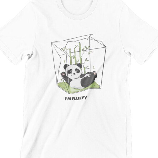 I am Fluffy Printed T Shirt