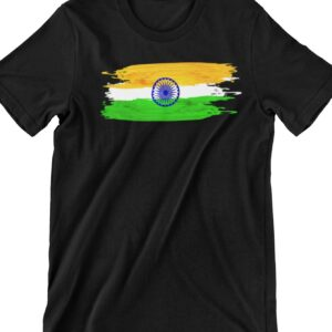 India Flag Printed T Shirt