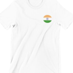 India Flag 1 Printed T Shirt