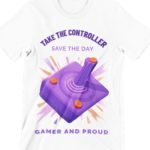 Gamer and Prod Printed T Shirt