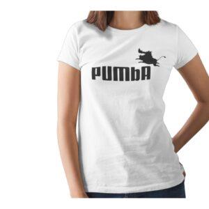 Pumba Printed T Shirt  Women