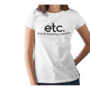 Etc. Printed T Shirt  Women