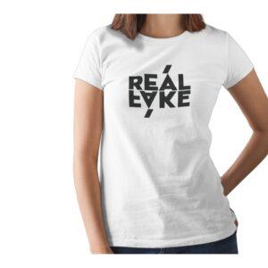Real Fake Printed T Shirt  Women