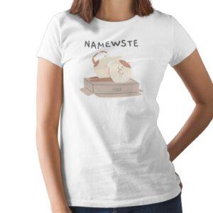 Namewste Printed T Shirt  Women
