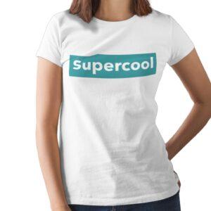 Supercool Printed T Shirt  Women