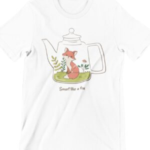 Smart Like a Fox Printed T Shirt