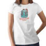 Adventure A Waits Printed T Shirt  Women