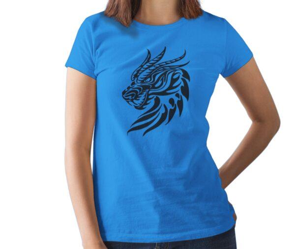 Dragon 2 Printed T Shirt  Women