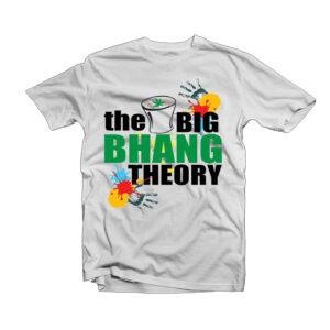Holi Design T-Shirt -1
