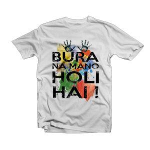 Holi Design T-Shirt -3